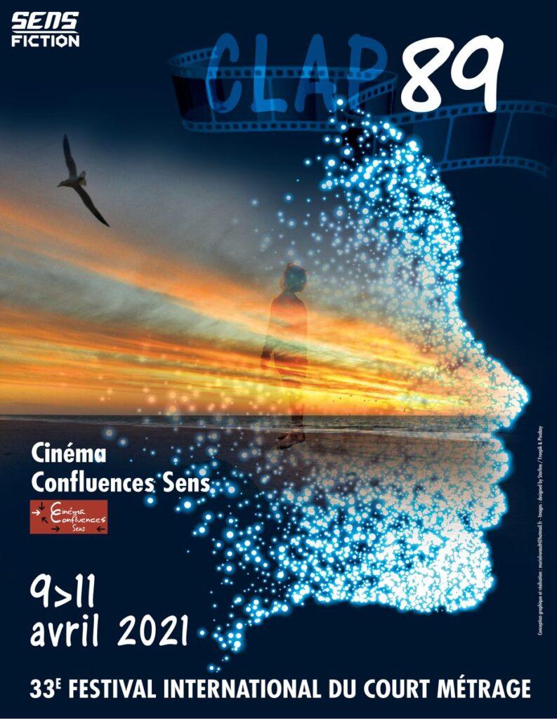 Affiche du 33e Clap 89, du 9 au 11 avril 2021