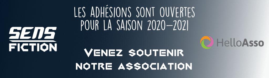 Bandeau adhésion Sens-Fiction 2021